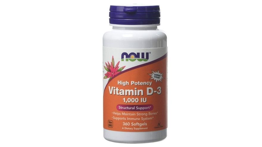 Now Foods Vitamin D3 1000iu Standard
