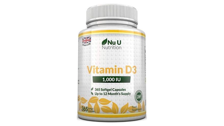 Vitamina D3 NU U 365